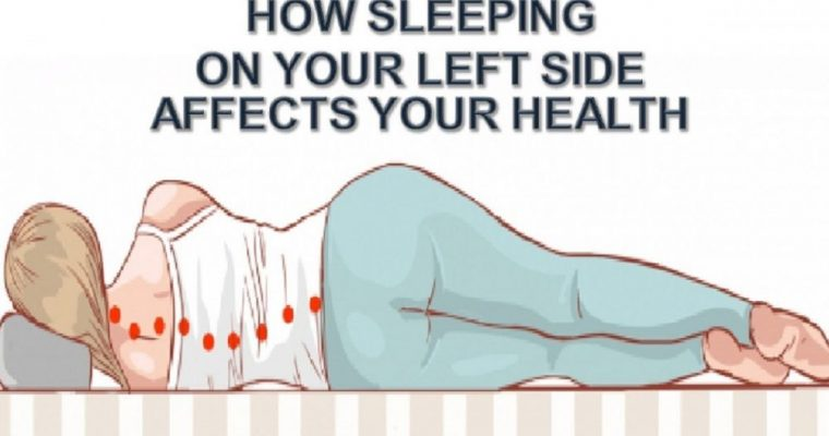 How Sleeping on Your Left Side Affects Your Health