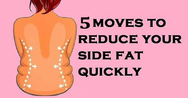 5 EFFECTIVE MOVES TO REMOVE BACK FAT AND FAT FROM SIDES!