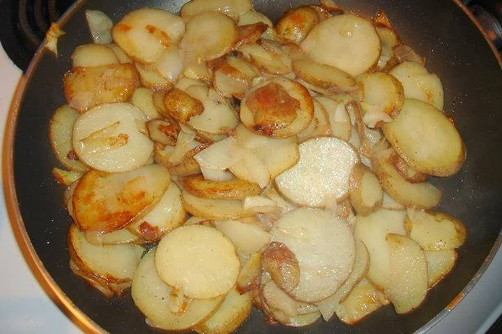 Best Fried Potatoes and Onions