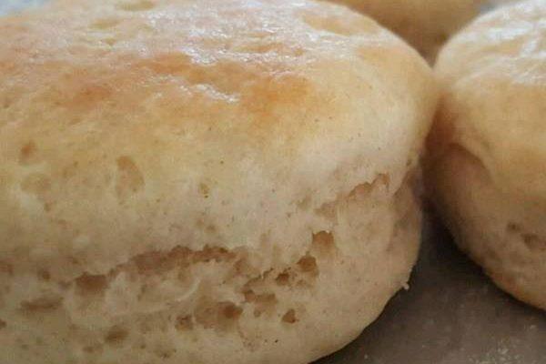 3 Ingredient Easy Biscuits