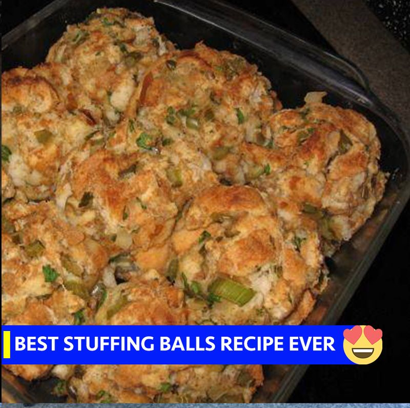 The Best Stuffing Balls Ever